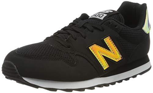 New Balance Damen 500 Sneaker, Schwarz (GW500HGW), 40 EU