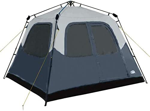 Pacific Pass Camping Tent 6 Person Instant Cabin Family Tent Easy Set Up for Camp Backpacking product image
