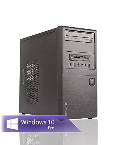Ankermann-PC - SILENT STAR, AMD FX-4300 4x 3.8 GHz Turbo: 4.00GHz, onBoard Graphic DVI-HDMI-VGA, 8 GB DDR3 RAM, 1000 GB Disco, Windows 7 Professional 64 Bit, Card Reader, EAN 4260219652018