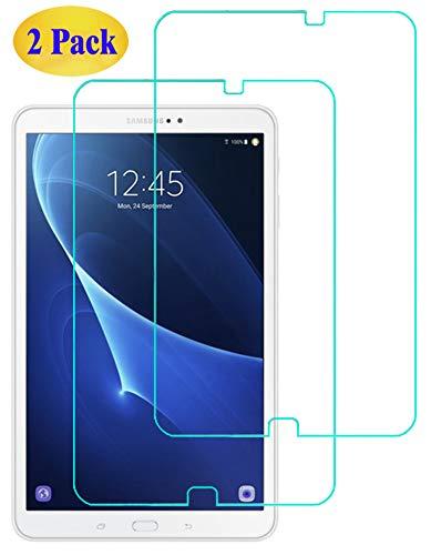 Eachy Compatible con Cristal Templado para Samsung Galaxy Tab A 10.1, [2 Unidades] Protector de Pantalla para Samsung Galaxy Tab A6 10.1 (SM-T580/T585) Vidrio Templado--10.1 pulgadas