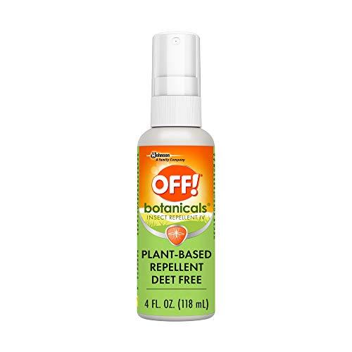 OFF! Botanicals Deet-Free Bug Spray & Mosquito Repellent, 4 oz.