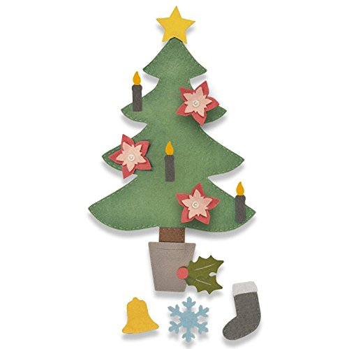 Sizzix Bigz Die Christmas Tree #2 - Multi-Colour, One Size