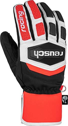 Reusch Worldcup Warrior R-TEX XT Handschuh, Black/White/Fluo red, 10