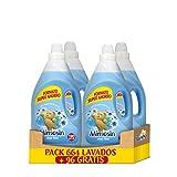 Mimosin Suavizante Concentrado Azul Vital 166+24 lavados - Pack de 4