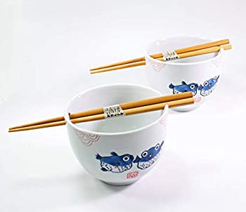rice bowl with chopstick holder