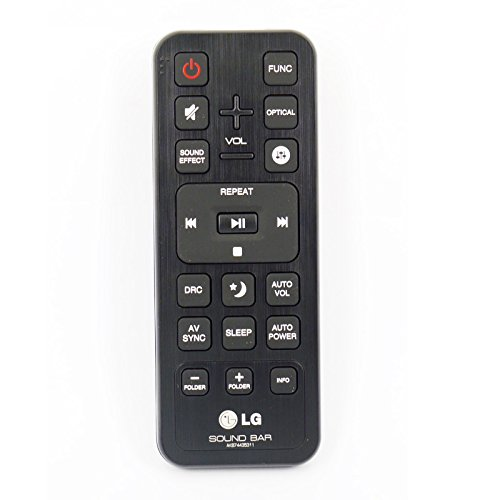 Remote Control forLG LAS455H 21 Ch 300W Soundbar with Wireless Subwoofer