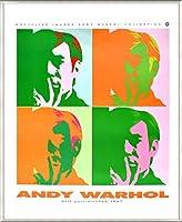 ポスター アンディ ウォーホル セルフポートレート 額装品 アルミ製ベーシックフレーム(ライトブロンズ)