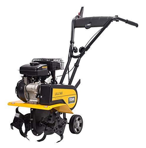 TEXAS Lilli 345 TG | Motorhacke | Gartenfräse | Benzinantrieb | 40 cm Arbeitsbreite | 1400 Watt Leistung | Rückwärtsgang