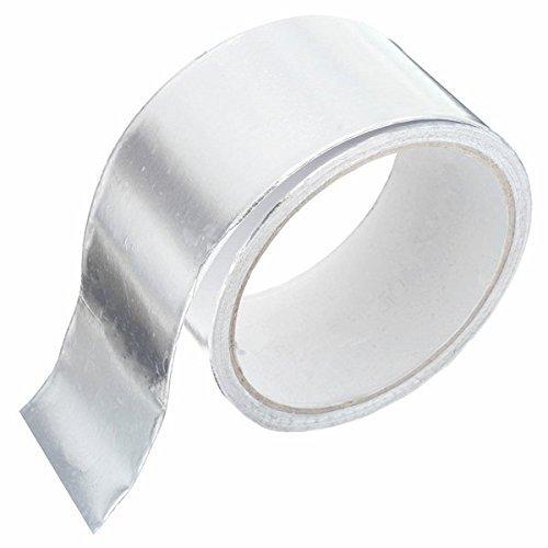 Irinay 48Mm X 10M Aluminium Klebeband Chic Selbstklebende Folie Auto Auspuff Reparaturblech Täglich Schule Bürobedarf Produkte (Color : Colour, Einheitsgröße : Einheitsgröße)