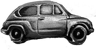 Spilla a forma di auto d'epoca italiana 600 ref65 effetto peltro