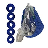 CPAP Mask Liners, CPAP Mask Covers Pads Full Face - for Resmed Philips Respironics Dreamwear Full Face Masks Reusable [5 Pack]