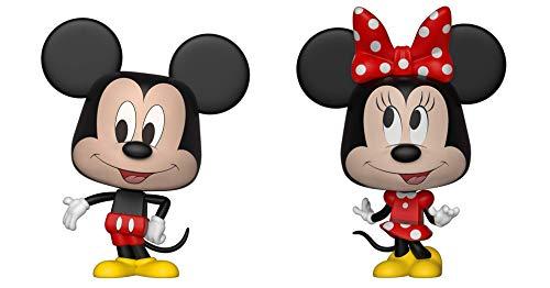 Funko 26673 VYNL - Paquete de 2 Unidades de 10 cm, diseño de Mickey y Minnie