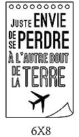 フランスの透明なクリアシリコンスタンプ/DIYスクラップブッキング/フォトアルバム用シール装飾的なクリアスタンプシートB0219