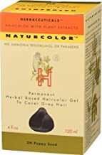 Naturcolor Haircolor - Poppy Seed Hair Dye, 4 Fl Oz (2N)