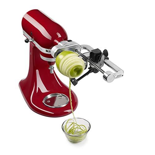 """KitchenAid Spiralizer Attachment, 1"""", Silver"""