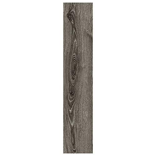 Luxury Vinyl Floor Tiles by Lucida USA | Glue-Down Adhesive Flooring for DIY Installation | 16 Wood-Look Planks | GlueCore | 39 Sq. Feet