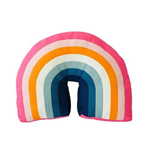 Rainbow Fox Arc en Ciel Oreiller en Forme de U Oreillers Siège Chaise Arrière Coussin des Gamins Voyage pour des Gamins Salle de Jeux