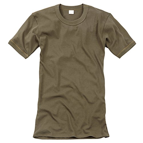 Black Snake Original Unterhemd T-Shirt der Deutschen Bundeswehr Unterziehhemd in verschiedenen Größen Beige 5 / M