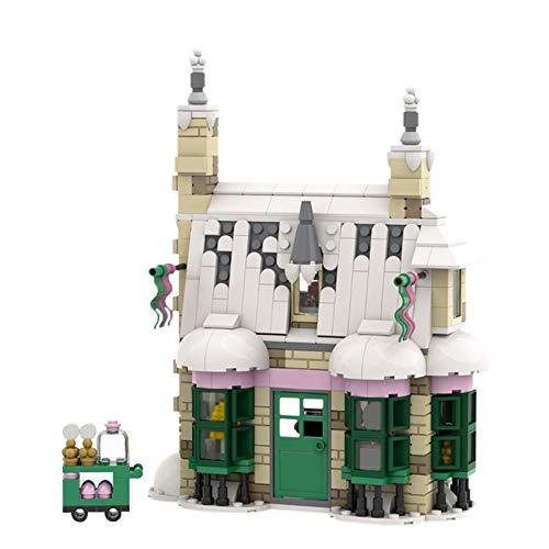 TUSI City Bricks Honeydukesss Magic World Wizard Candy House Sp001 46627movie Modelo Bloque de Construcción Juguete Niños Regalo C5259594PCS