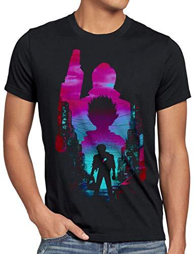 A.N.T. Neo Tokyo Cityscape Camiseta para Hombre T-Shirt Anime Manga Tokio, Talla:2XL