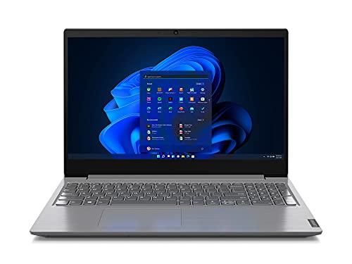 """LENOVO V15 15.6"""" i3-1005G1 FINO 3.4GHz RAM DDR4 SSD M.2 FHD 1080P Windows 11 PRO ORIGINALE COMPUTER NOTEBOOK PORTATILE AZIENDALE LAPTOP SMARTWORKING DAD (Ricondizionato) (4GB RAM SSD M.2 256GB)"""