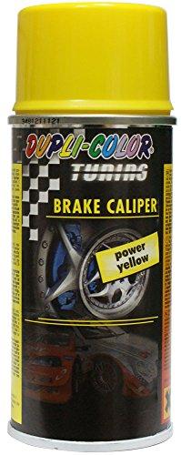 Dupli-Color 706097 Tuning-Lackspray Bremssattellack Brake Calpper Spray, 150 ml, Gelb