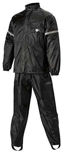 Nelson Rigg 2 Piece WeatherPro Rainsuit (Black, X-Large)