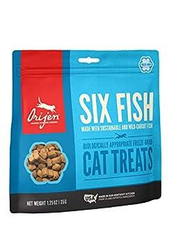 Orijen Cat Treat Freeze Dried - Six Fish - 35 g