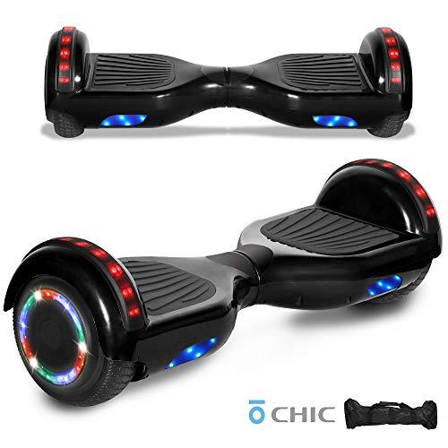 Best Deals! LED Sidelights Bluetooth Speaker Hoverboard Electric Self Balancing Scooter LED Light 6....