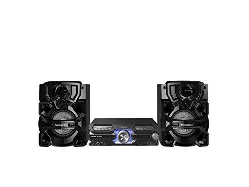 Panasonic SC-AKX710E-K - Sistema di altoparlanti Hi-Fi Megasound wireless da 2000 W, con Bluetooth e karaoke, colore: Nero