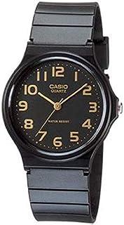 ساعة يد للرجال من الراتنج بمينا اسود موديل MQ-24-1B2 من كاسيو