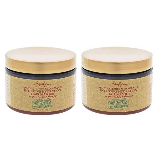 Shea Moisture Manuka Honey & Mafura Oil Intensive Hydration Masque, 12 Ounce