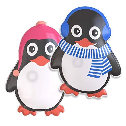 WARMFREUND© Premium Handwärmer - Verbessertes Konzept I Taschenwärmer Set I Handwärmer Kinder für Lange Wärme I Taschenwärmer wiederverwendbar & unterwegs I Taschenwärmer knicken I 2er Set