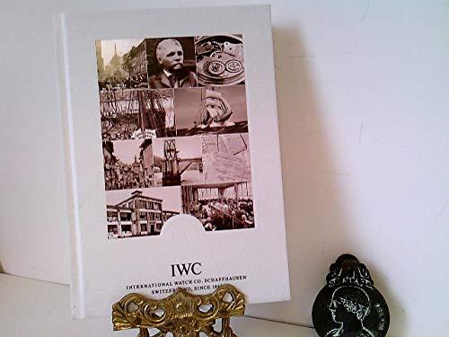Uhren: IWC International Watch Co. Schaffhausen Switzerland, nebst Preisliste