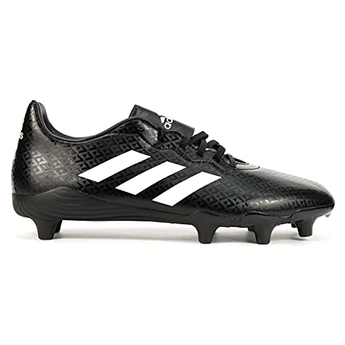 adidas Men's Engage Boots Rugby Shoe, Black, 7 M US