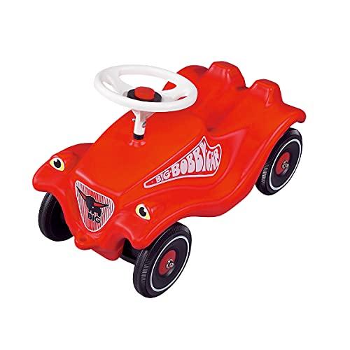Big - Bobby Car Classic Rouge - Porteur Enfant - Klaxon - Dès 12 Mois - 800001303