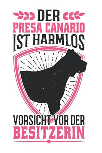 Presa Canario Tagesplaner: Presa Canario Besitzerin Hund Dogo Canario / Kalender 2022...