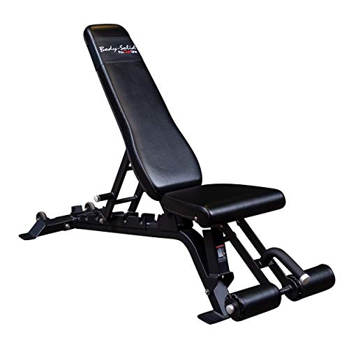 Body-Solid SFID425 Pro Clubline Adjustable Bench for Abdominal and Core Training, 1,000 Pound Weight Capacity