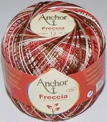 50g Anchor Freccia - Farbe: 9449 - multicolor - Stärke 12
