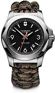 Victorinox - Hombre I.N.O.X. - Reloj de Cuarzo/Acero Inoxidable analógico de fabricación Suiza 241894