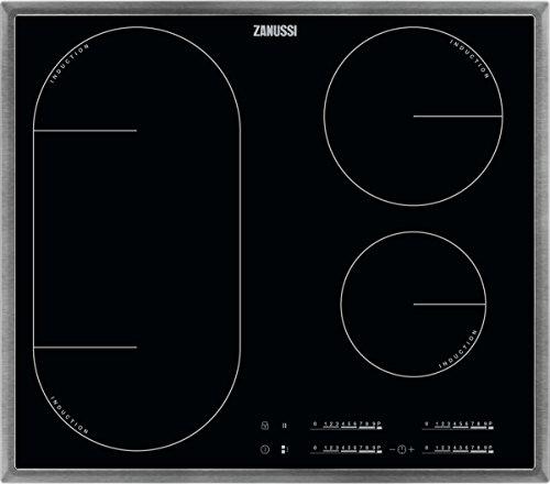 ZANUSSI ZIL 6470 XB/Glaskeramik-Induktionskochfeld/Edelstahlrahmen / 60 cm / 4 Zonen