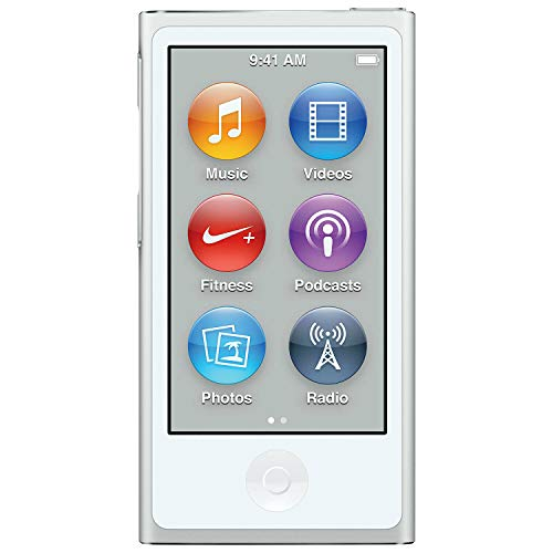 M-Player iPod Nano 7th Generation 16gb Purple (Generic Headset and Charging Cord) Packaged in Plain White Box