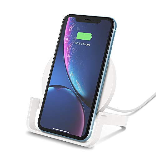 CHARGE BELKIN BOOST UP DRAADLOZE STAND Blanc