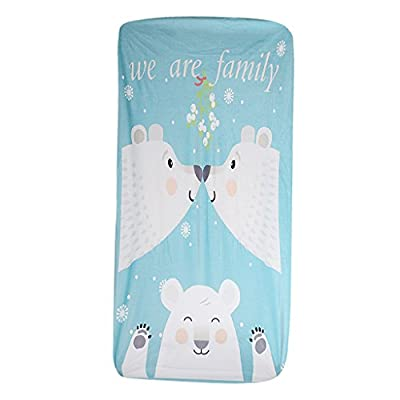 Homyl Baby Crib/ Cot bed /Junior Bed Bed Mattress Poly Warm Soft Plush Fitted Sheets