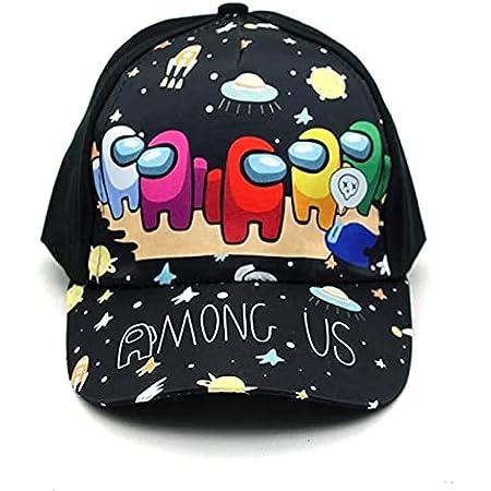 KKP Among Us Gorra de Beisbol, Gorra Unisex Juego Entre Nosotros, Sombrero Divertido Cap para niños,