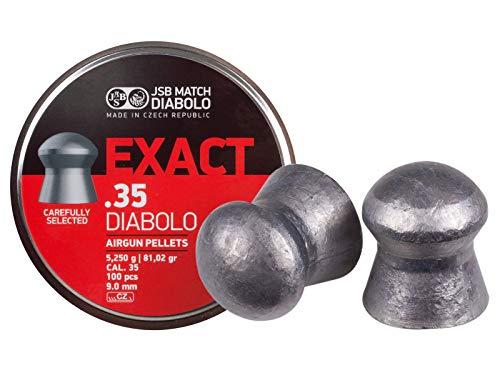 JSB Match Diabolo Exact, Ring Cal, 81.02Getreide, Kuppel, 100ct