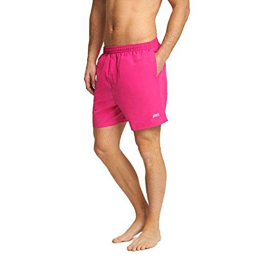 Zoggs Penrith Short de Bain pour Homme, Homme, Penrith Short, 4546173S, Rose, Small/30-32 inch
