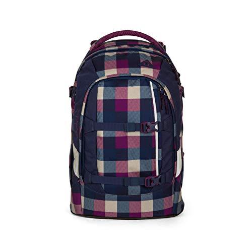 satch Pack Berry Carry, ergonomischer Schulrucksack, 30 Liter, Organisationstalent, Lila/Blau