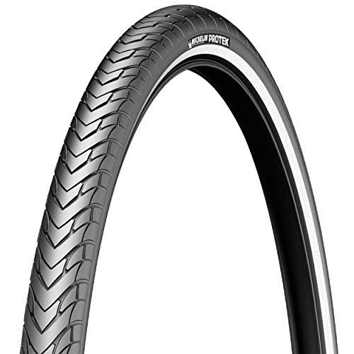 MICHELIN Fahrrad Reifen Protek // alle Größen, Ausführung:schwarz Reflex, Drahtreifen, Dimension:37-622 (28×1,40´´) 700×35C