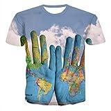 SSBZYES Camisetas De Talla Grande Para Hombre Jerseys Para Hombre Camisetas De Cuello Redondo Para Hombre Tops De Manga Corta Camisetas 3dt Gran Signo De Interrogación Impresión Digital Camisetas Para